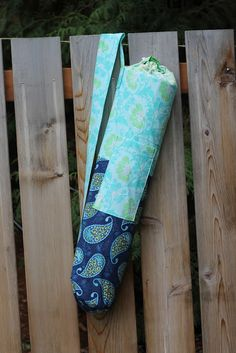 Dragonfly Designs: Yoga Mat Bag Pattern