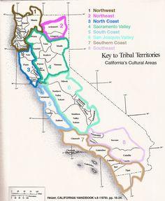 Tribal Territories in California