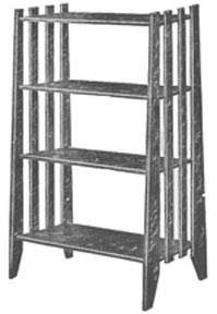 Mission Style Book Stand plans