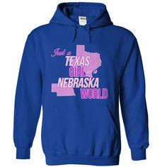 Just a Texas Girl in a Nebraska World T-Shirt! T-Shirts Hoodies Sunfroghttps://www.sunfrog.com/States/Just-a-Texas-Girl-in-a-Nebraska-World-T-Shirt-RoyalBlue-Hoodie.html?81633