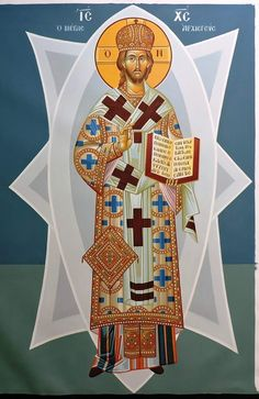 Christ The King, Russian Icons, Christmas Icons, High Priest, Byzantine Icons, Orthodox Christianity, Religious Icons, Orthodox Icons, Christian Art
