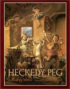Heckedy Peg..im sure i checked this book out of my elementary school library 50 times when i was younger lol