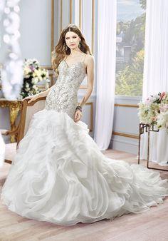 Moonlight Couture H1298 Mermaid Wedding Dress