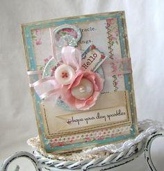 card, ribbon, buttons, layers   Ira Lamija
