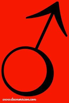 Symbol for Mars, ruler of Aries. For more info, visit www.deemorrison.com. Like ~ Comment ~ Share <3 & thanks! #Astrology