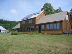 Passive Solar Heat, Free Heat From Good Green Home Design.