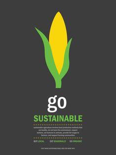 Sustainability Poster Series on Behance