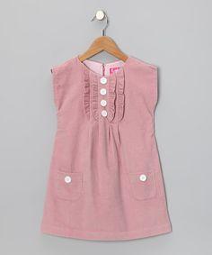 KandyCrew Pink Mod Dress - Toddler & Girls