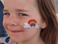 Cheek Art, Rainbow