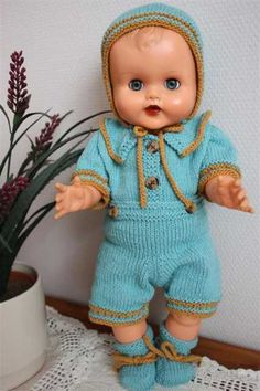 dukkehobby.com Vintage Toys, Childhood Memories, Baby Dolls, Doll Clothes, Rompers, Norway, Kids, Fashion, Tricot