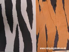 Making Animal Skin paper collages with toddlers a fun activity, creative and with fine motor skills to boost