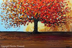 Image result for abstract autumn art