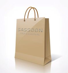 Sassoon Professional Paper Shopping Bag.