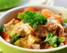 Ragoût de poisson minceur aux légumes