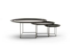 Fat-Fat Large Coffee Table with Chrome Frame by Patricia Urquiola for B&B Italia Painted Coffee Tables, Large Coffee Tables, Small Tables, Ladies Mobile, Space Furniture, Painting Frames, Patricia Urquiola, New Homes, Chrome