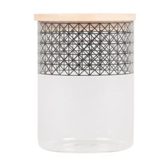 chizzle canister glass small