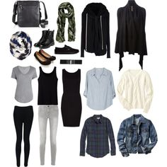 All you need to pack for a 2 week trip in one bag. It only takes 18 items. Outfits for warm or cool weather, touring around or going someplace fancy. Simple and...