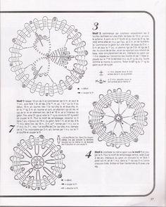 L'angelo dell'uncinetto: Magazine. Centrini a crochet Bruges