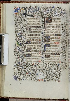 Book of Hours, MS M.1004 fol. 43v - Images from Medieval and Renaissance Manuscripts - The Morgan Library & Museum