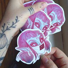 THIS IS SO CUTEeeeee!!! Jennalee auclair has such a sickkkkkkkk drawing style. I luvvvv