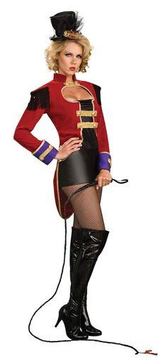 Sexy ringleader costume - so cute!