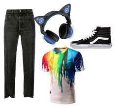 """Boys DJ Cat"" by gryffindor101-269 on Polyvore featuring Vetements and Vans"