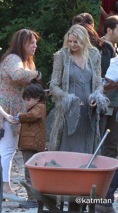 "Raphael and Jennifer Morrison - 5 * 1 "" Dark Swan"" 14 July 2015"