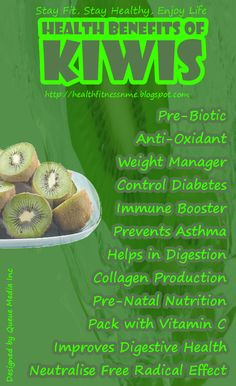 Health Benefits of Kiwi #health #fruit #bloodpressure