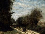 """New artwork for sale! - """" Corot Crecy En Brie Road In The Country by Jean Baptiste Camille Corot """" - http://ift.tt/2qm1dad"""