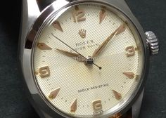 56' ROLEX OYSTER ROYAL ss Texture Cross dial