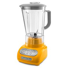 KitchenAid KSB560YP Yellow Pepper Artisan Series 5-Speed Blender  -- I miss Blenders in Santa Barbara!!!