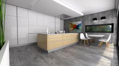 Campana de techo Pando. Diseño de cocina de JDIAS (Portugal)