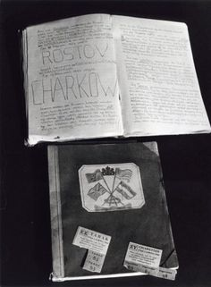 A diary found during building activities on the Thorbeckeplein in Amsterdam. The diary was hidden behind boards and turned out to be personal notes and a diary from Harry Swaab, who hid there until 1943. Harry Swaab was murdered on June 11th, 1943 in Sobibor. The diary was found on May 12th, 1983.