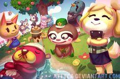 Animal Crossing New Leaf by ~Attyca on deviantART