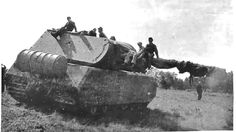 Panzer VIII Maus was a super-heavy tank that remains the largest fully enclosed armored fighting vehicle ever built. Designed by Dr. Ferdinand Porsche, the Panzer VIII was 50 percent longer than the next largest German tank and was over three times as heavy.