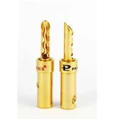 Pailiccs Quality BFA Type Gold Plated 4mm Banana Plug Connectors