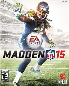 Madden 15's cover features some dude trying Vegeta's Big Bang Attack!
