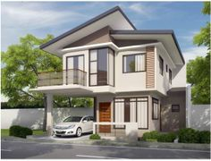 Our Top 10 Modern house designs – Modern Home Modern House Facades, Real Estate Services, Fence Design, Facade House, Mansions, House Styles, Bago, Pictures, Connect