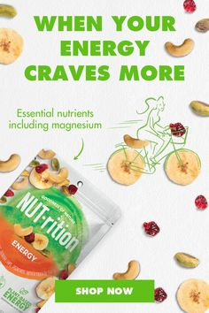 NUT-rition nut and fruit mixes are made up of powerful ingredient combinations. Our energy mix has everything you need to help power through your day. Tap the Pin to shop. Pork Chop Recipes, Keto Recipes, Healthy Recipes, Health Dinner, Deviled Eggs Recipe, Banana Chips, Natural Flavors, Smoothie Recipes, Cravings