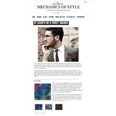 MECHANICS OF STYLE online January 2013