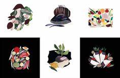 Les collages du chef Alain Passard
