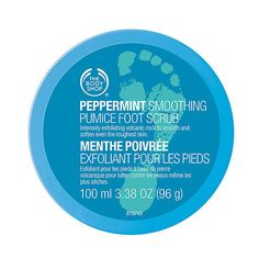 The Body Shop's Peppermint Cooling Foot Scrub ($14) and more products to cool you from head to toe this Summer!