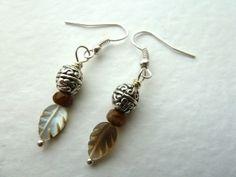 feather earrings £4.00