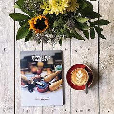 Good morning Tuesday! Get inspired by the passion and process behind modern printmaking in Pressing Matters  Issue 04. Useful insightful practical geeky niche  call it what you will Pressing Matters is a magazine produced by printmakers for printmakers  sharing their techniques creative journeys and most importantly their work. This issue of the magazine explores the broadest reaches of the printmaking world  both in technique and location. Now available in our online shop (touch the picture…