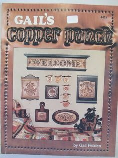 Vintage Copper Punch  punched metal booklet by THEFEATHERMERCHANT, $8.00