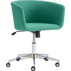 gregor swivel chair vittaryd white. Coup Teal Office Chair // Cb2 Gregor Swivel Vittaryd White -
