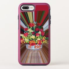 Happy Valentine's Day Sentimental Love to Cherish OtterBox Symmetry iPhone 8 Plus/7 Plus Case - girly gift gifts ideas cyo diy special unique