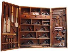 Tool Box, I love the dividision in this piece, organization is key.