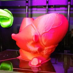 Printed Anatomical heart for Inglewood Elementary school science fair bugs, Bytes and beakers. Anatomical Heart, Science Fair, Elementary Schools, Bugs, Table Lamp, 3d, Printed, Home Decor, Table Lamps