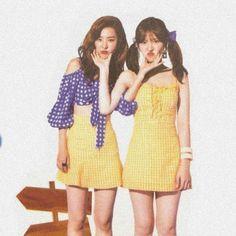 Wendy & Seulgi Power Up era Kpop Girl Groups, Korean Girl Groups, Kpop Girls, Cool Girl, My Girl, Peek A Boo, Wendy Red Velvet, Black Velvet, Red Velvet Seulgi